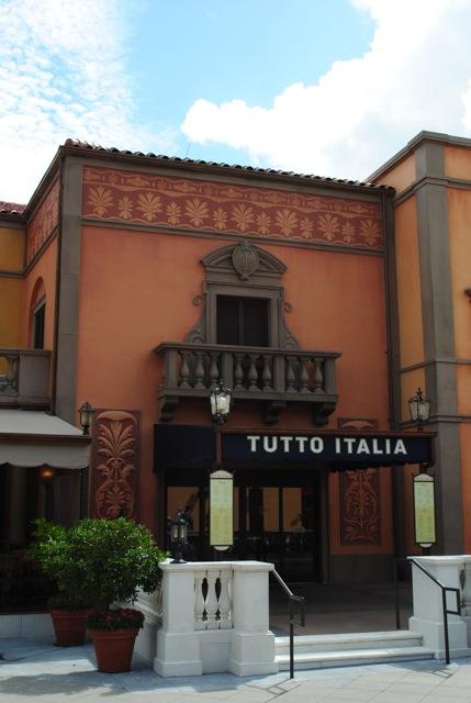 Epcot italy tutto italia for Tutete italia