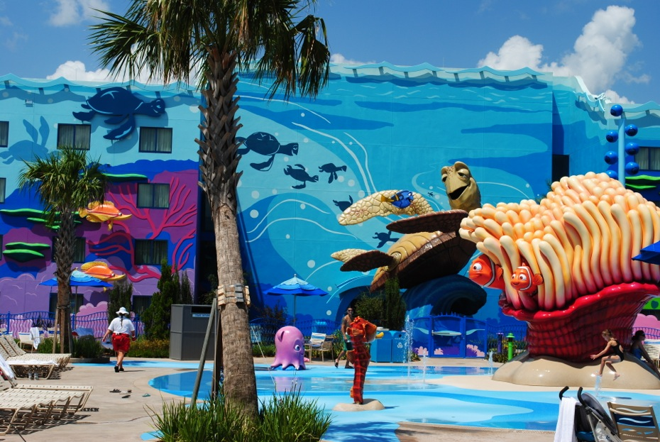 Disney Art of Animation with Plummer Painting and Water Proofing