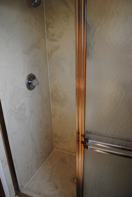 Master Bath Shower – Before