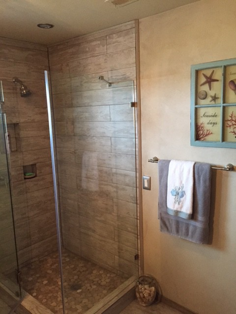 Guest Bath Shower – Finished