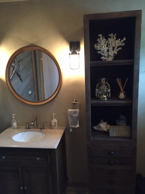 Guest Bath Vanity – Finished